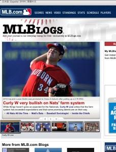 MLBlogs homepage