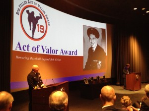 Bob Feller Act of Valor Award Honors Yogi Berra, Justin Verlander and Navy CPO Garth Sinclair