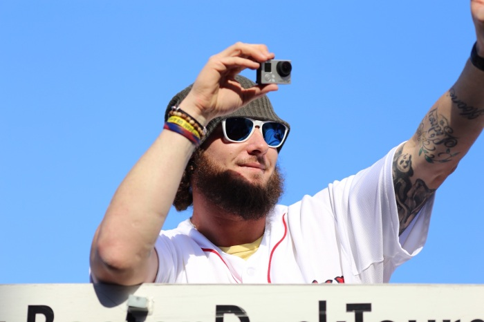 Jarrod Saltalamacchia Photo by Ben Thomas @bdthomas
