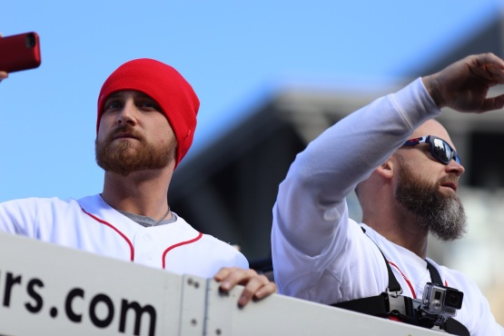 Will Middlebrooks and David Ross Photo by Ben Thomas @bdthomas