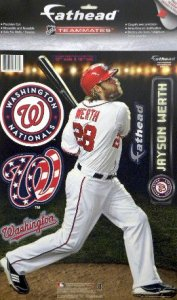 You can get Fathead decals for all your favorite Nats, mascots, logos, and movie characters.