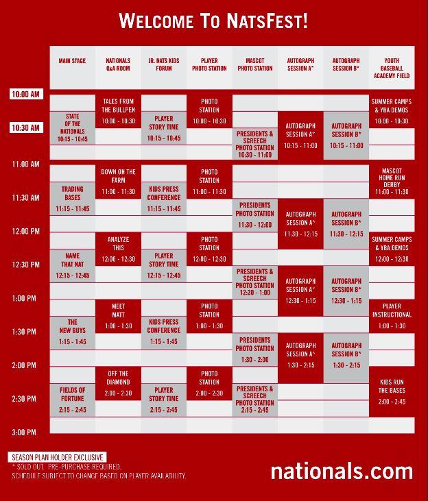 2014NatsFestSchedule