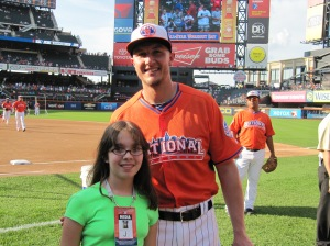 Haley Smilow and Troy Tulowitzki