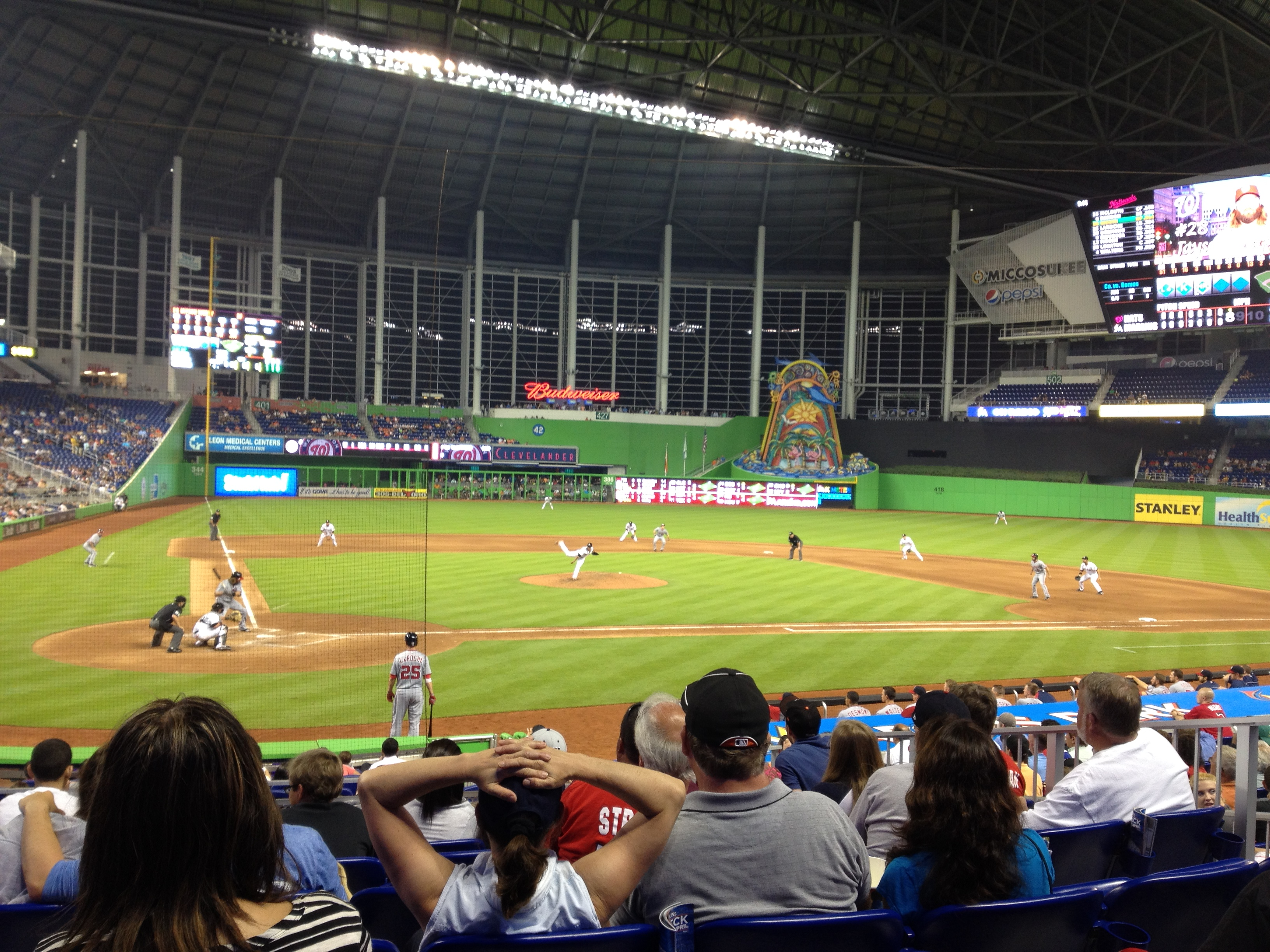 My Amazing Experience At Marlins Park Matt S Bats