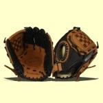 1 baseball glove