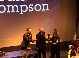 Sr. Chief Petty Officer Carl Thompson wins Bob Feller Act of Valor Award