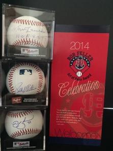 Bob Feller Act of Valor Award included baseball celebrites Tommy Lasorda, Bobby Valentine and Nick Swisher