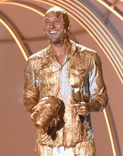 Derek after being slimed