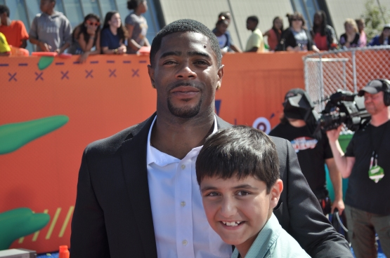 Me with NFL star Malcolm Butler