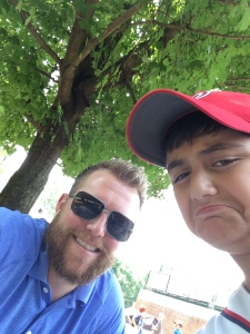 Selfie with Drew Storen.  I'm sad that he was snubbed for the All Star Game.