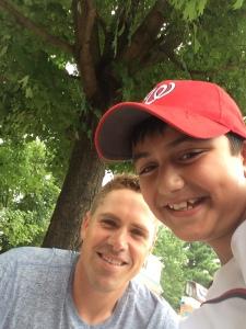 Selfie with Tyler Moore